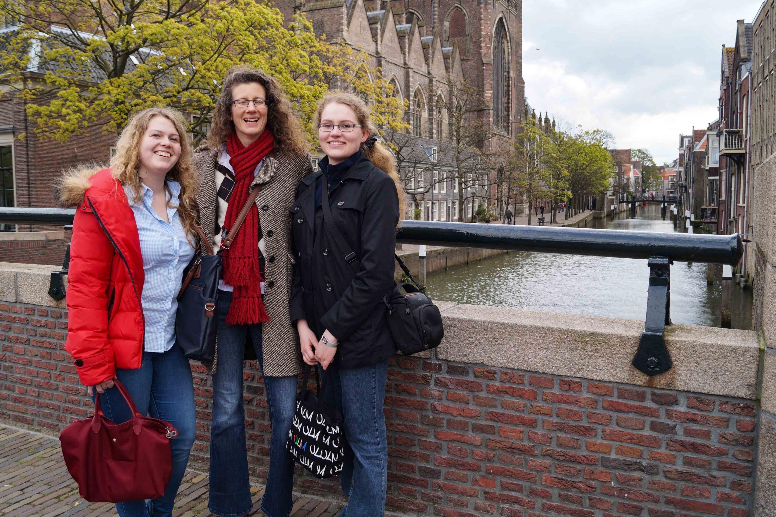 Gruppenfoto in Rotterdam