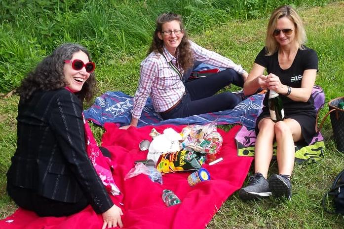 Im Laufe des Wochenendes ist auch Zeit für ein entspanntes Picknick