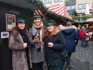 Glühwein auf dem Christkindlesmarkt