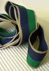 Das Fuxenband ist dunkelblau und dunkelgrün